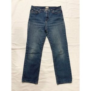 Levi's 512 perfectly slimming jeans